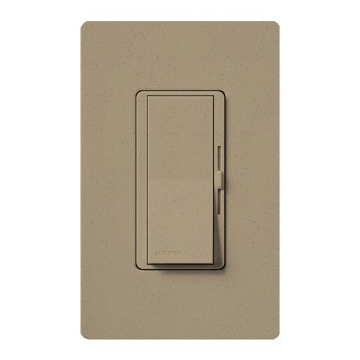 Lutron Diva Electronic Low-Voltage Dimmer - 3-Way - 300W Max - Mocha Stone