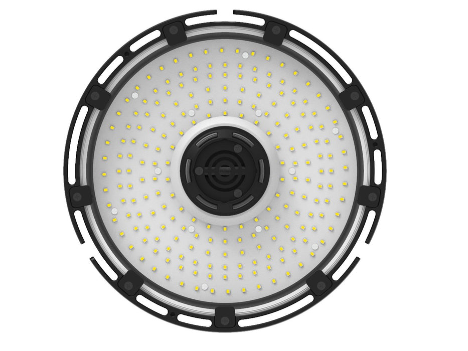 240W LED UFO High Bay Light - 30300 Lumens - 1500W Metal Halide Replacement - 100-277VAC Dimmable - 5000K