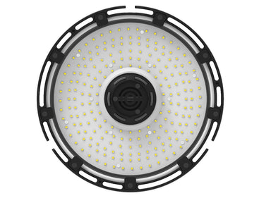 150W LED UFO High Bay Light - 19300 Lumens - 750W Metal Halide Replacement - 347-480VAC Dimmable - 5000K