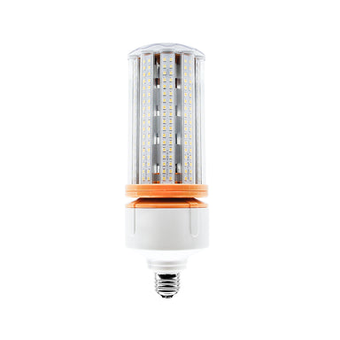 50W LED Corn Cob Light Bulb - 6250 Lumens - E26 Medium Base - 250W HID Metal Halide HPS Replacement Lamp - Direct Wire