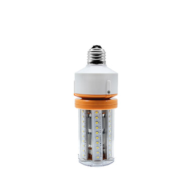10W LED Corn Cob Light Bulb - 1300 Lumens - E26 Medium Base - Direct Wire