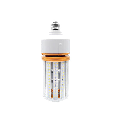 40W LED Corn Cob Light Bulb - E26 Medium Base - 5000 Lumens - 175W HID Metal Halide HPS Replacement Lamp - Direct Wire