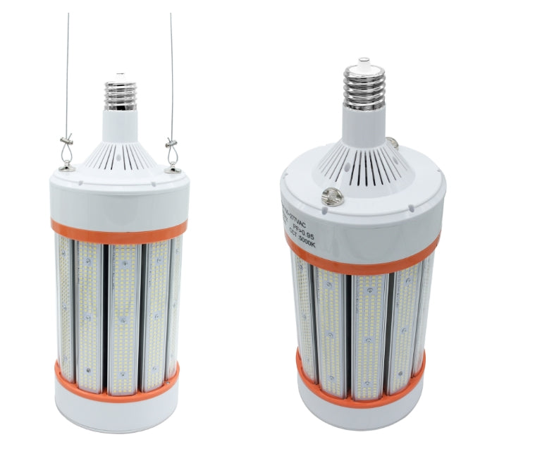 1000W Metal Halide Replacement - 420W LED Corn Light Bulb - 70000 Lumens - 120-277Vac - E39 Base - 5000K