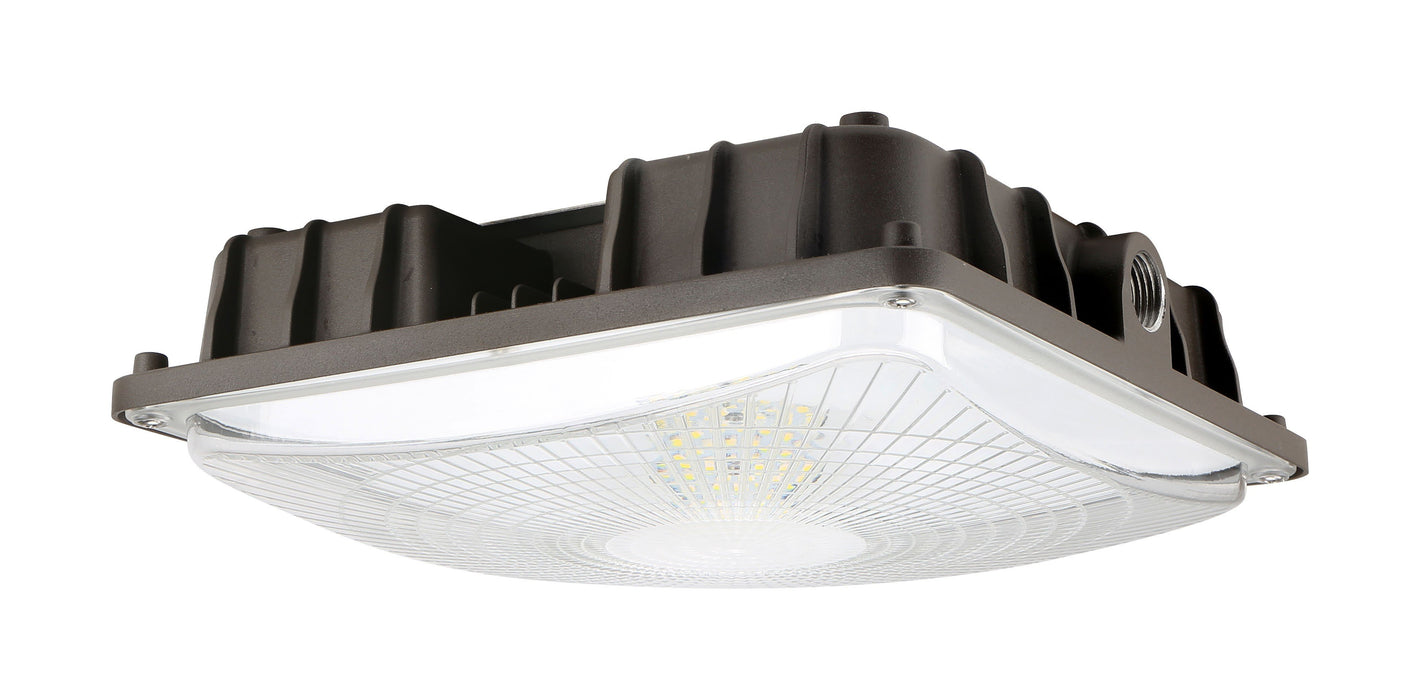 arcadia lighting led canopy light 40w 5000k