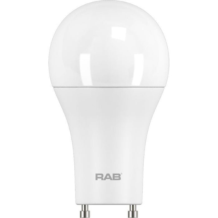 RAB 9 Watt Dimmable A19 LED Lamp - 3000K - 800 Lumens - 60W Replacement - 120V
