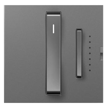 Adorne Magnesium Whisper Wi-Fi Ready Master Dimmer Tru-Universal