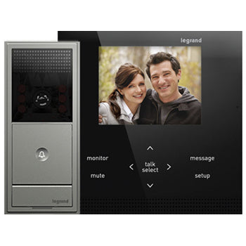 Adorne Magnesium Wireless Video Intercom Kit