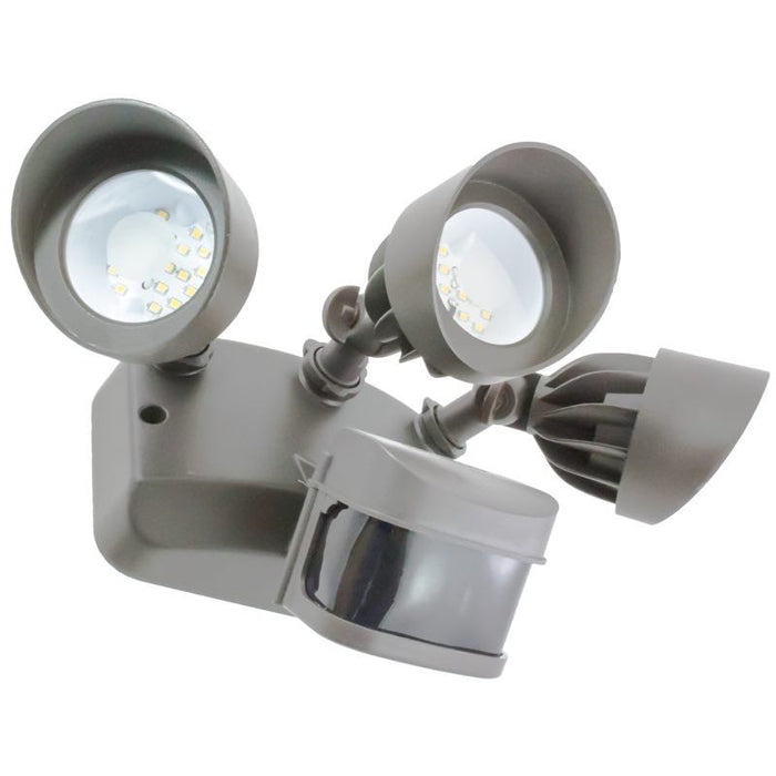 American Lighting 36 Watt LED Dark Bronze Motion Sensor Flood Light - 3000K - 1,589 Lumens - 120-277V