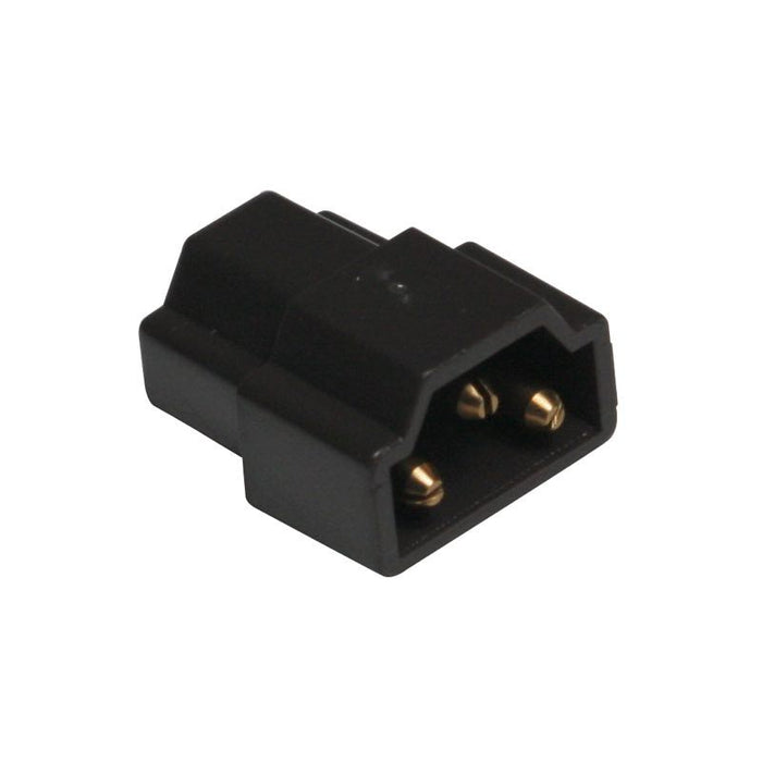 American Lighting Black Inline Connector for End-to-End Connection