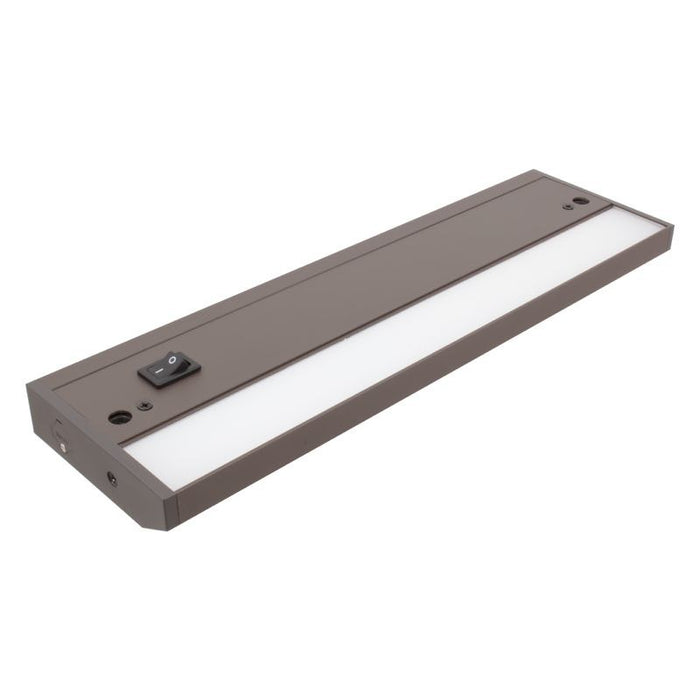 "American Lighting 12"" - 4 Watt LED Dark Bronze LED Undercabinet Fixture - 3000K - 250 Lumens - 120V"