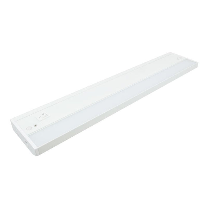 "American Lighting 18"" - 6 Watt LED White LED Undercabinet Fixture - 3000K - 415 Lumens - 120V"