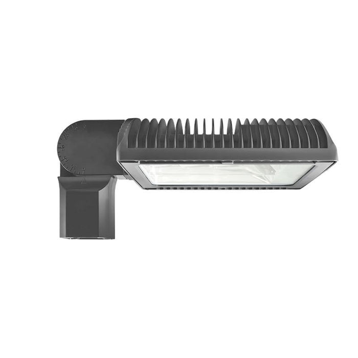 RAB 105 Watt Bi-Level LED Area Light - Type III - No Photocell - Slipfitter Mount - 4000K - 12,042 Lumens - 120-277V - Bronze