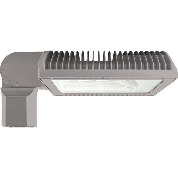 RAB 105 Watt Bi-Level LED Area Light - Type III - No Photocell - Slipfitter Mount - 5000K - 12,476 Lumens - 120-277V - Gray
