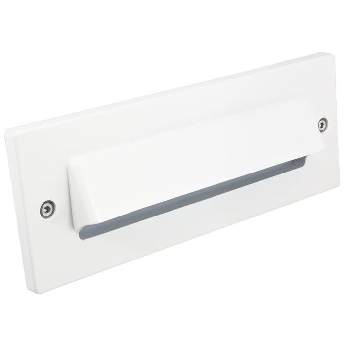 American Lighting White Hooded Faceplate for LED Brick Light