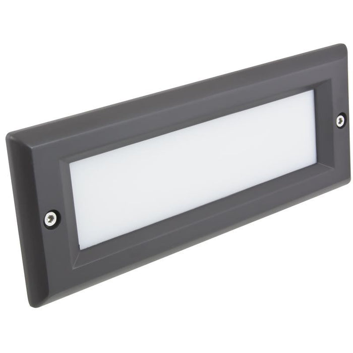 American Lighting Dark Bronze Smooth Faceplate for LED Brick Light