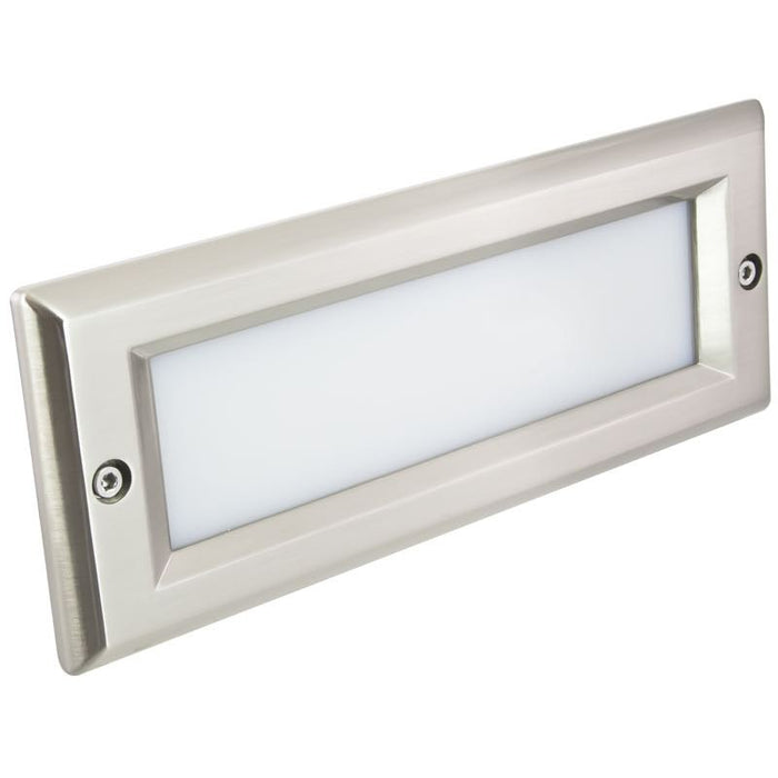 American Lighting Stainless Steel Smooth Faceplate for LED Brick Light