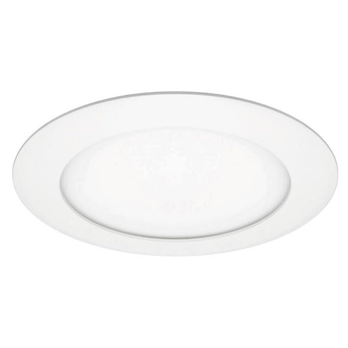 "American Lighting 6"" - 12 Watt LED White BRIO Round Disc Light - 3000K - 925 Lumens - 120V"