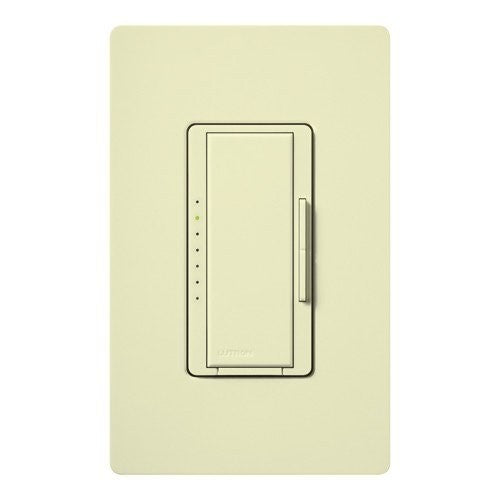 Lutron Maestro CL Pro All-in-One Dimmer - Phase Selectable - LED / CFL / Incandescent / Halogen - Almond