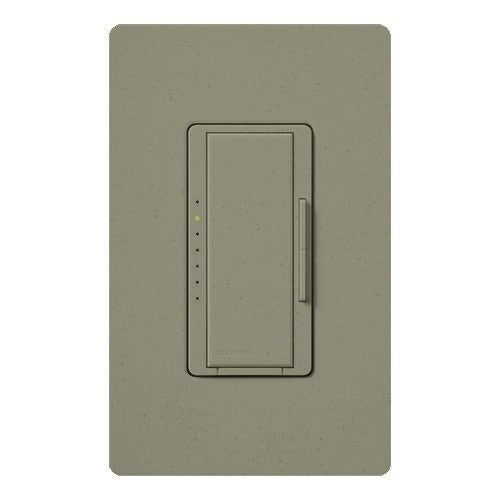 Lutron Maestro CL Pro All-in-One Dimmer - Phase Selectable - LED / CFL / Incandescent / Halogen - Green Briar