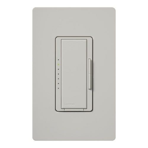 Lutron Maestro CL Pro All-in-One Dimmer - Phase Selectable - LED / CFL / Incandescent / Halogen - Palladium