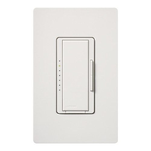 Lutron Maestro CL Pro All-in-One Dimmer - Phase Selectable - LED / CFL / Incandescent / Halogen - Snow