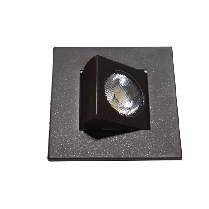 "Nicor 9 Watt 2"" Adjustable Square LED Downlight - 30° Narrow Optic - Oil-Rubbed Bronze - 2700K - 662 Lumens - 120V"