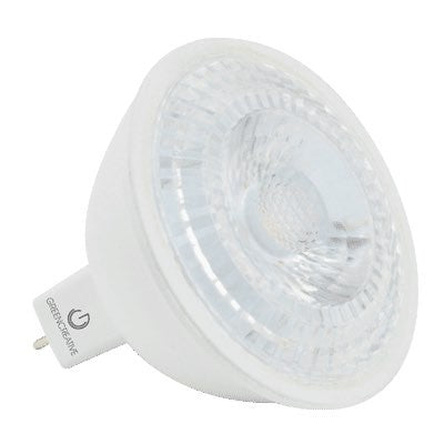 Green Creative 7 Watt Dimmable LED MR16 - GU5.3 - 35�� - 4000K - 570 Lumens - 12V