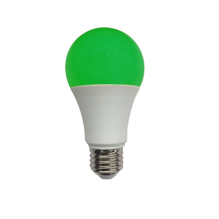 EarthTronics 5.5 Watt Green LED A19 Lamp - 300 Lumens - 120V