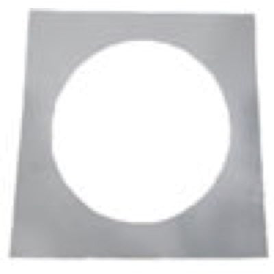 "Lotus Square Goof Ring for 10"" Downlights - 14"" Cover Area - White"
