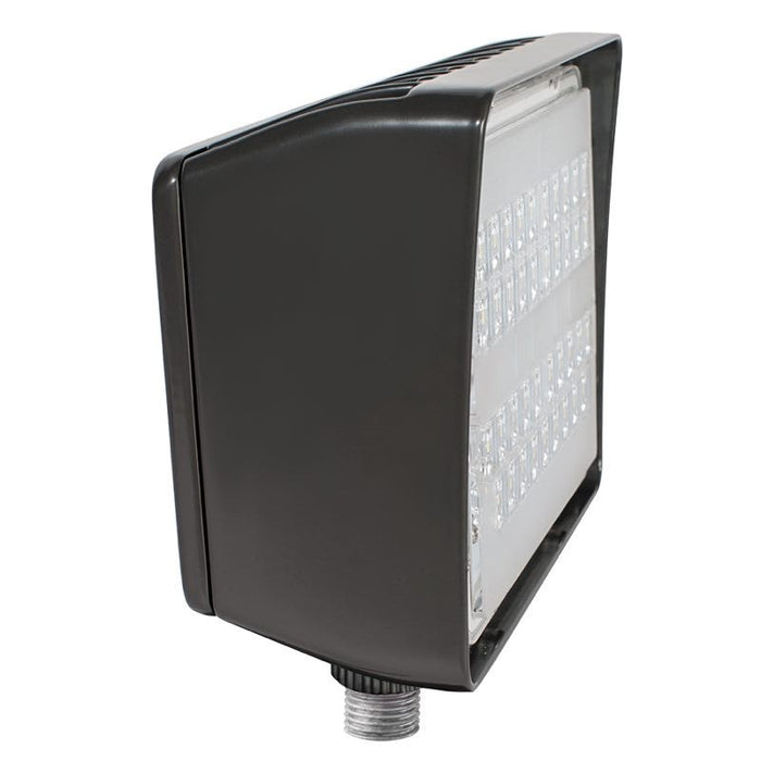 RAB 30 Watt PIP LED Flood Light with Photocell - 4000K - 4,265 Lumens - 120-277V - Bronze