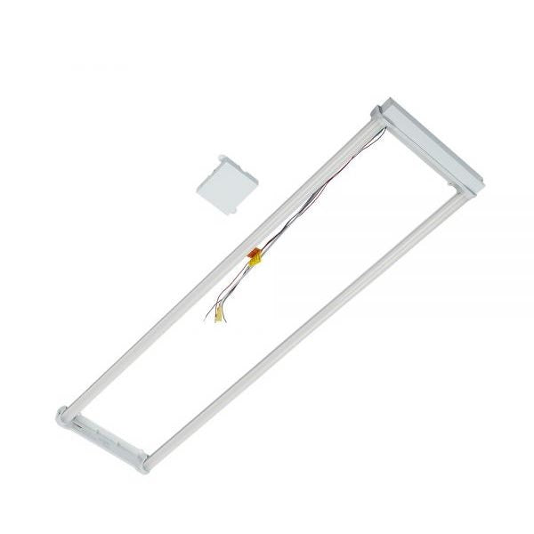 Litetronics 30 Watt 2x4 2-Lamp Wattage Selectable LED Troffer Retrofit Kit - 4000K - 120-277V