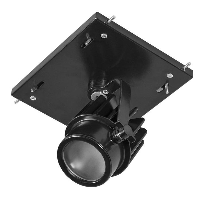 RAB 12 Watt LED 1 Fixture Multi-Head Gear Tray - 3500K - 1,077 Lumens - 120-277V - Black