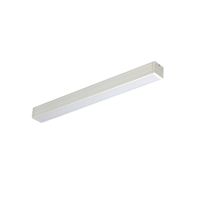 "Nora Lighting 7 Watt LED 12"" Bravo Frost Linear Undercabinet Fixture - 4000K - 520 Lumens - 120V - White"