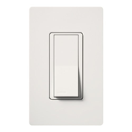 Lutron Claro 15A Single-Pole Switch with Nightlight - Snow