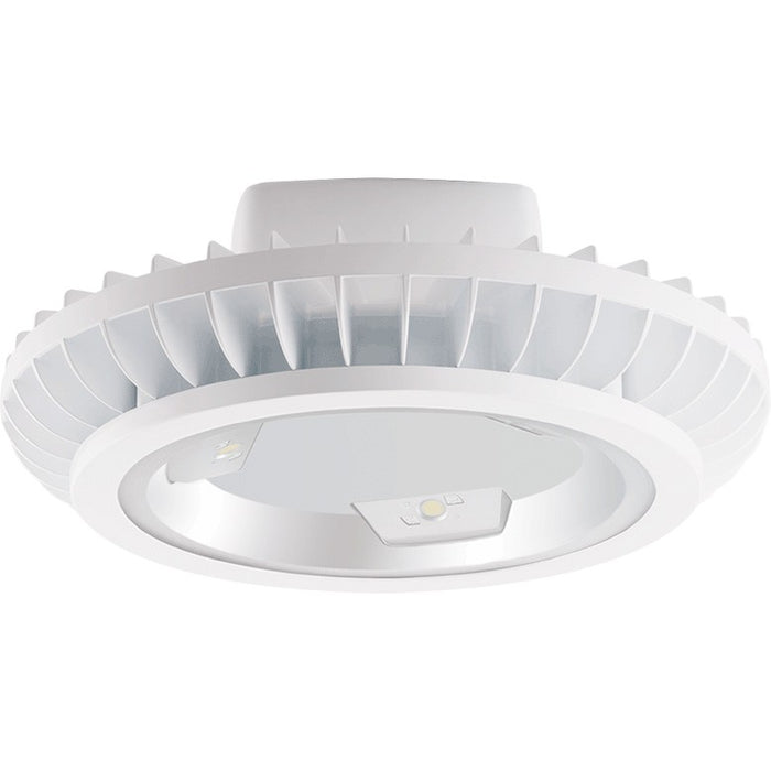 RAB 78 Watt Bi-Level BAYLED High Bay - 3000K - 11,183 Lumens - 120-277V - White