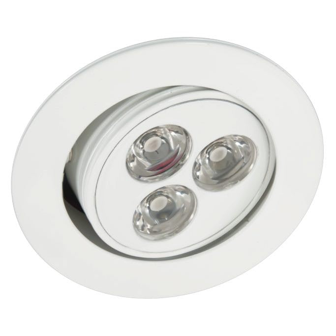 American Lighting 3.75 Watt LED White LMS-3 Swivel Puck Light - 3000K - 185 Lumens