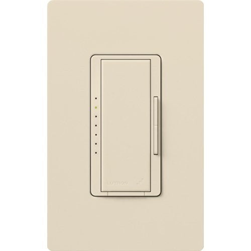 Lutron RadioRA 2 1000W Incandescent / Halogen Dimmer - Light Almond