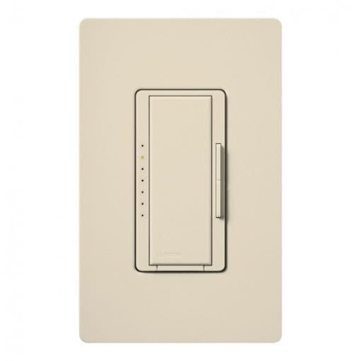 Lutron RadioRA 2 Maestro Adaptive Dimmer - Neutral Wire - Light Almond