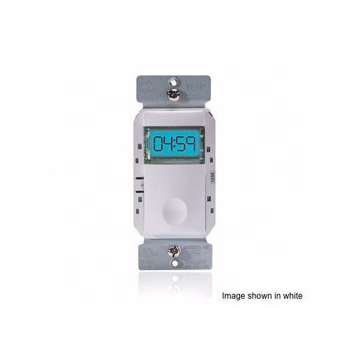 Wattstopper Low Voltage Digital Time Switch 24V Light Almond