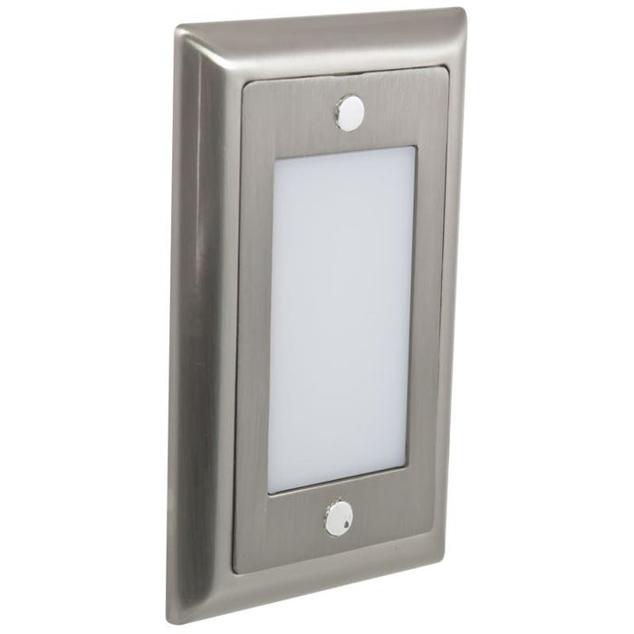 American Lighting Stainless Steel Smooth Faceplate for LED Step Light