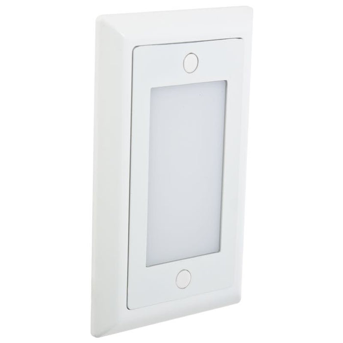 American Lighting White Smooth Faceplate for LED Step Light