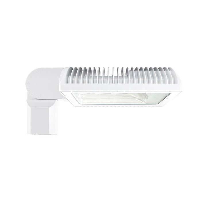 RAB 50 Watt Bi-Level LED Slipfitter Roadway Light - Type II - No Photocell - 4000K - 6,824 Lumens - 120-277V - White