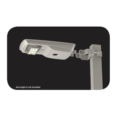 Light Efficient Design Square Pole Bracket for 8 Watt Solar Area Light
