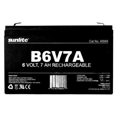 Sunlite 40045-SU B6V7A B6V7A Emergency Back-Up Battery - PACK of 10