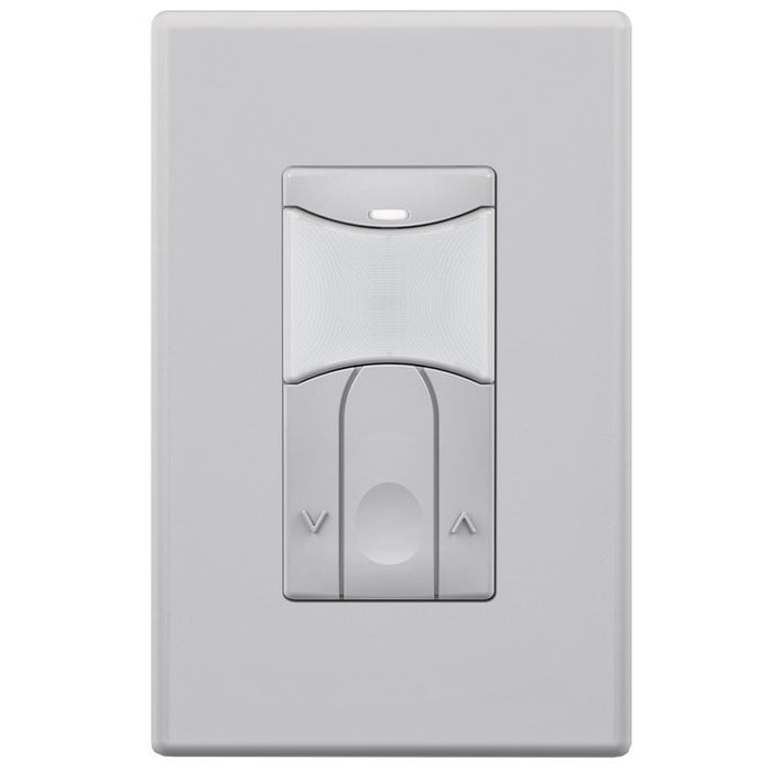SensorWorx Wall Switch Sensor - Dual Tech - Auto On - 0-10V Dimming - Stand-Alone - 12-24V - Gray