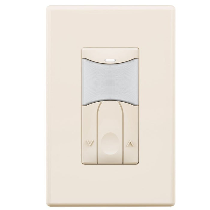 SensorWorx Wall Switch Sensor - Dual Tech - Auto On - 0-10V Dimming - Stand-Alone - 12-24V - Ivory
