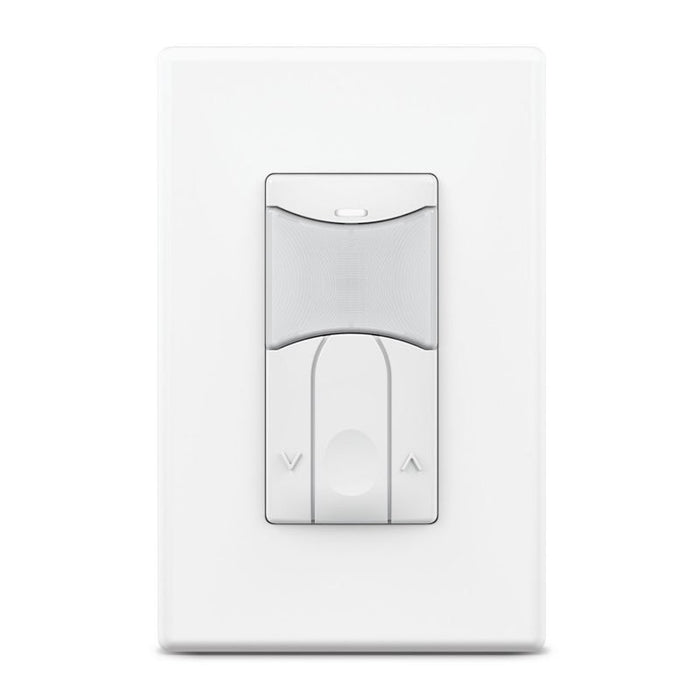 SensorWorx Wall Switch Sensor - Dual Tech - Auto On - 0-10V Dimming - Stand-Alone - 12-24V - White