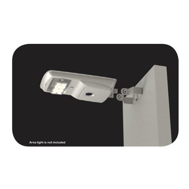 Light Efficient Design Trunnion Bracket for 8 Watt Solar Area Light