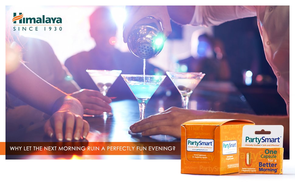 Hangover Cure with PartySmart Himalaya