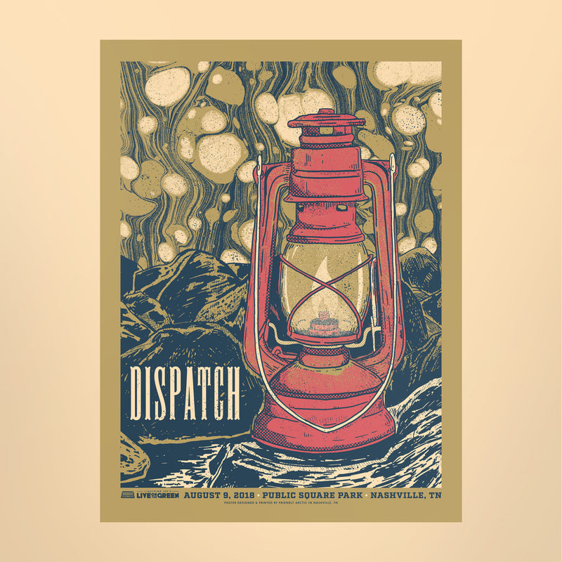 Dispatch 2018 Poster - Live on the Green
